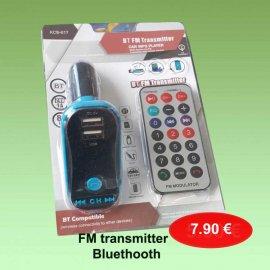 FM Transmitter με Bluethooth σύνδεση