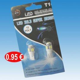 Σετ 2 LED αυτοκινήτου 12V. A-1211