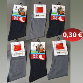 Ανδρικές κάλτσες One Size λεπτές σε διάφορα χρώματα KARD