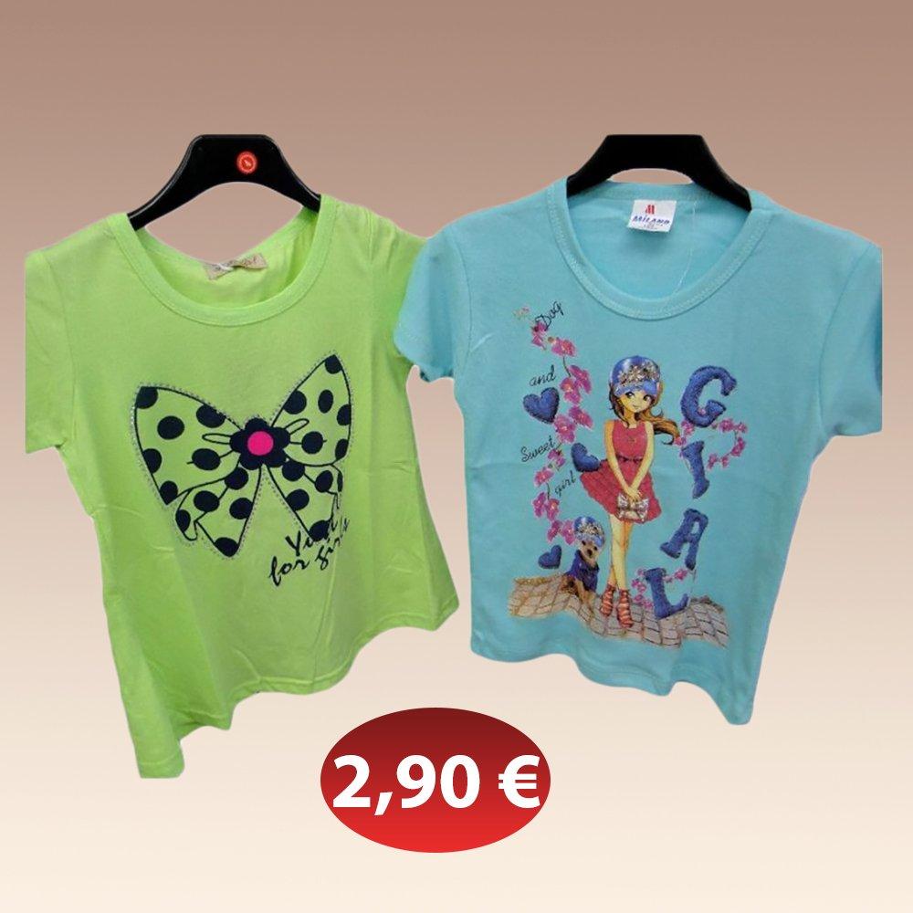 379a5d9be8b0 Μπεμπέ κοντομάνικο μπλουζάκι μακό γιά κορίτσια σε διάφορα χρώματα 2...